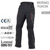 Bering Yukon Motorcycle/ Bike Men Textile Pants | CE App/GORE-TEX/Waterproof | Black