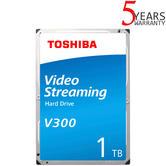 "Toshiba 1TB V300 Video Streaming Internal Hard Drive | 3.5"" SATA | Storage"