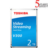 "Toshiba 2TB V300 Video Streaming Internal Hard Drive | 3.5"" SATA | Storage"