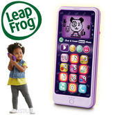 Leap Frog Chat & Count Smart Phone Violet Refresh | Learn Numbers+Counting | +18 Months