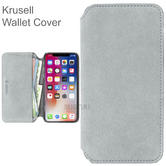 Krusell Broby 4 Card SlimWallet Case | Protective Flip Cover | For iPhone XR | Grey