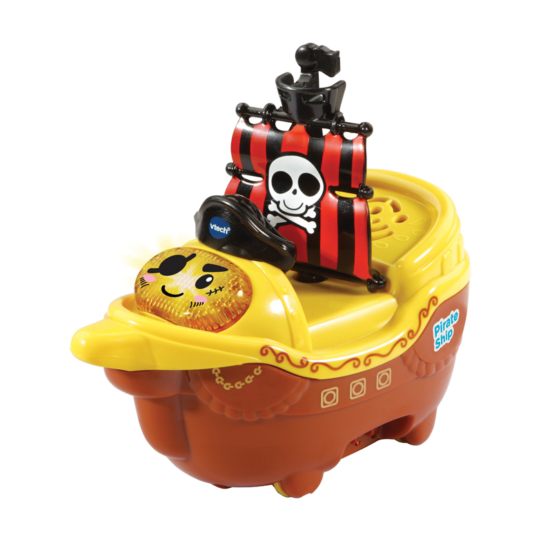 VTech Toot-Toot Splash Pirate Ship   Floating Boat With Light & Music    +1-5 Year