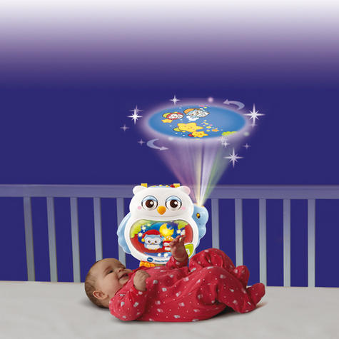 VTech Sleepy Owl Soothing Nightlight For Baby | Lullaby Mode + Remote Control | 0+M Thumbnail 3