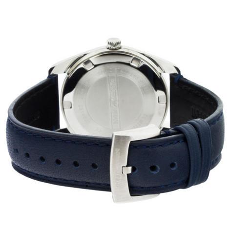 Emporio Armani Men's Formal Watch|Blue Round Dial|Blue Leather Strap|AR6017 Thumbnail 3