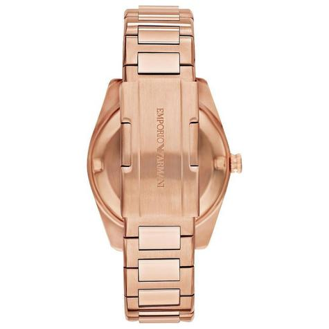 Emporio Armani Sportivo Ladies Watch | Grey Dial | PVD Rose Plated Strap | AR6020 Thumbnail 3