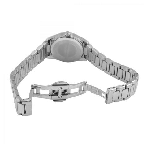 Emporio Armani Women's Formal Watch|Silver Case Round Dial|Bracelet Strap|AR6028 Thumbnail 2