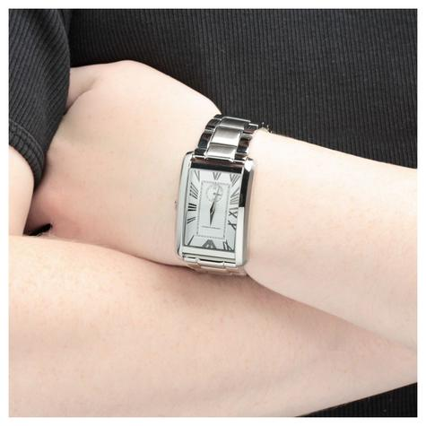 Emporio Armani Men's Watch|Rectangle Dial|Stainless Steel Bracelet Band|AR1607 Thumbnail 2