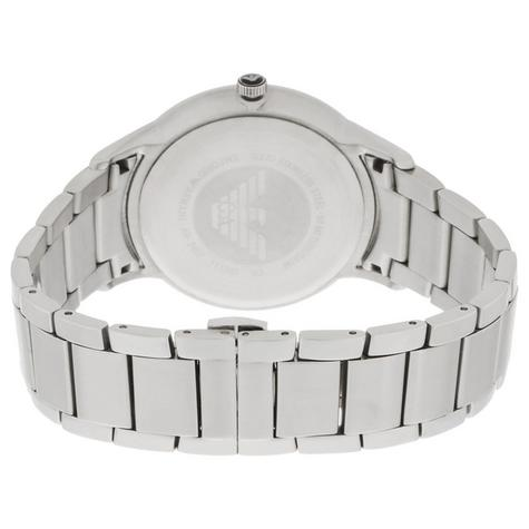 Emporio Armani Classic Men's Watch | Cream Round Dial | Stainless Steel Strap | AR2431 Thumbnail 2