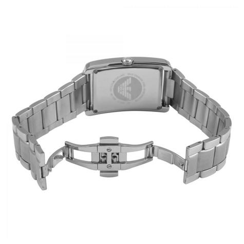 Emporio Armani Men's Watch|Rectangle Dial|Stainless Steel Bracelet Band|AR1608 Thumbnail 2