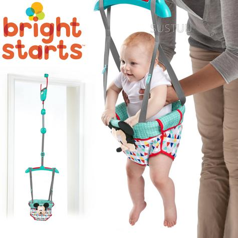 Bright Starts Disney Mickey Mouse Door Jumper/ Hanging Bouncer? Padded Seat | +6 Months  Thumbnail 1