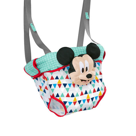 Bright Starts Disney Mickey Mouse Door Jumper/ Hanging Bouncer? Padded Seat | +6 Months  Thumbnail 3