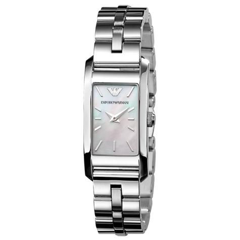 Emporio Armani Classic Ladies Watch | Mother of Pearl Dial | Stainless Steel | AR0733 Thumbnail 1