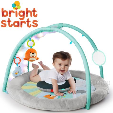Bright Starts Activity Gym Arctic Glow | Baby/ kid's Playmat With Lights+Music | +0 Months  Thumbnail 1