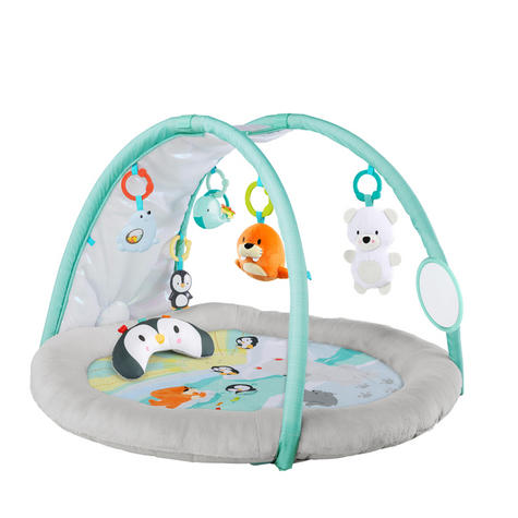Bright Starts Activity Gym Arctic Glow | Baby/ kid's Playmat With Lights+Music | +0 Months  Thumbnail 3