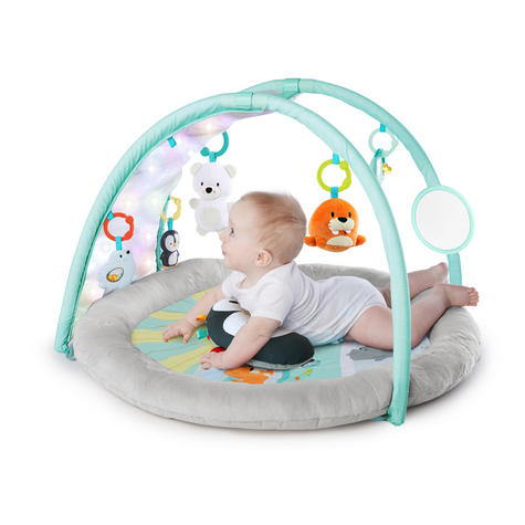 Bright Starts Activity Gym Arctic Glow | Baby/ kid's Playmat With Lights+Music | +0 Months  Thumbnail 5