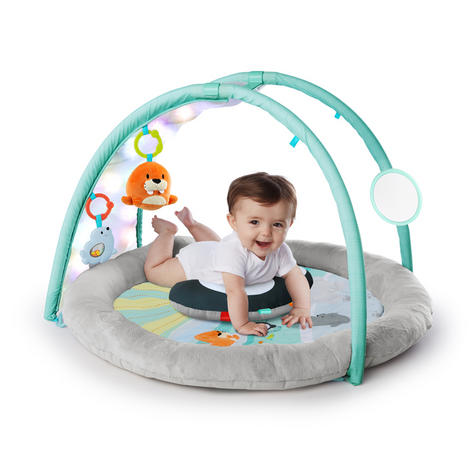 Bright Starts Activity Gym Arctic Glow | Baby/ kid's Playmat With Lights+Music | +0 Months  Thumbnail 6