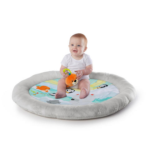 Bright Starts Activity Gym Arctic Glow | Baby/ kid's Playmat With Lights+Music | +0 Months  Thumbnail 7