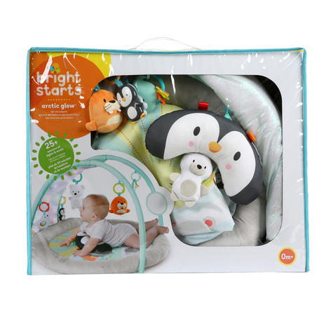 Bright Starts Activity Gym Arctic Glow | Baby/ kid's Playmat With Lights+Music | +0 Months  Thumbnail 8