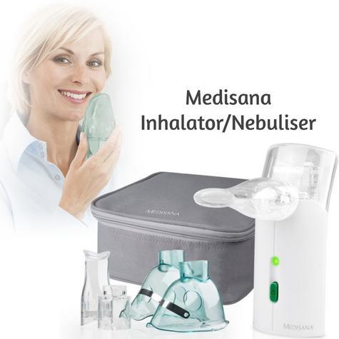 Medisana Ultrasonic Inhalator Nebuliser Mouthpiece Mask for Respiration MD54105 Thumbnail 5