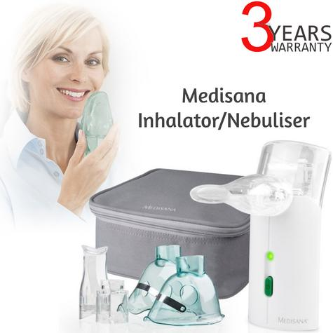 Medisana Ultrasonic Inhalator Nebuliser Mouthpiece Mask for Respiration MD54105 Thumbnail 1