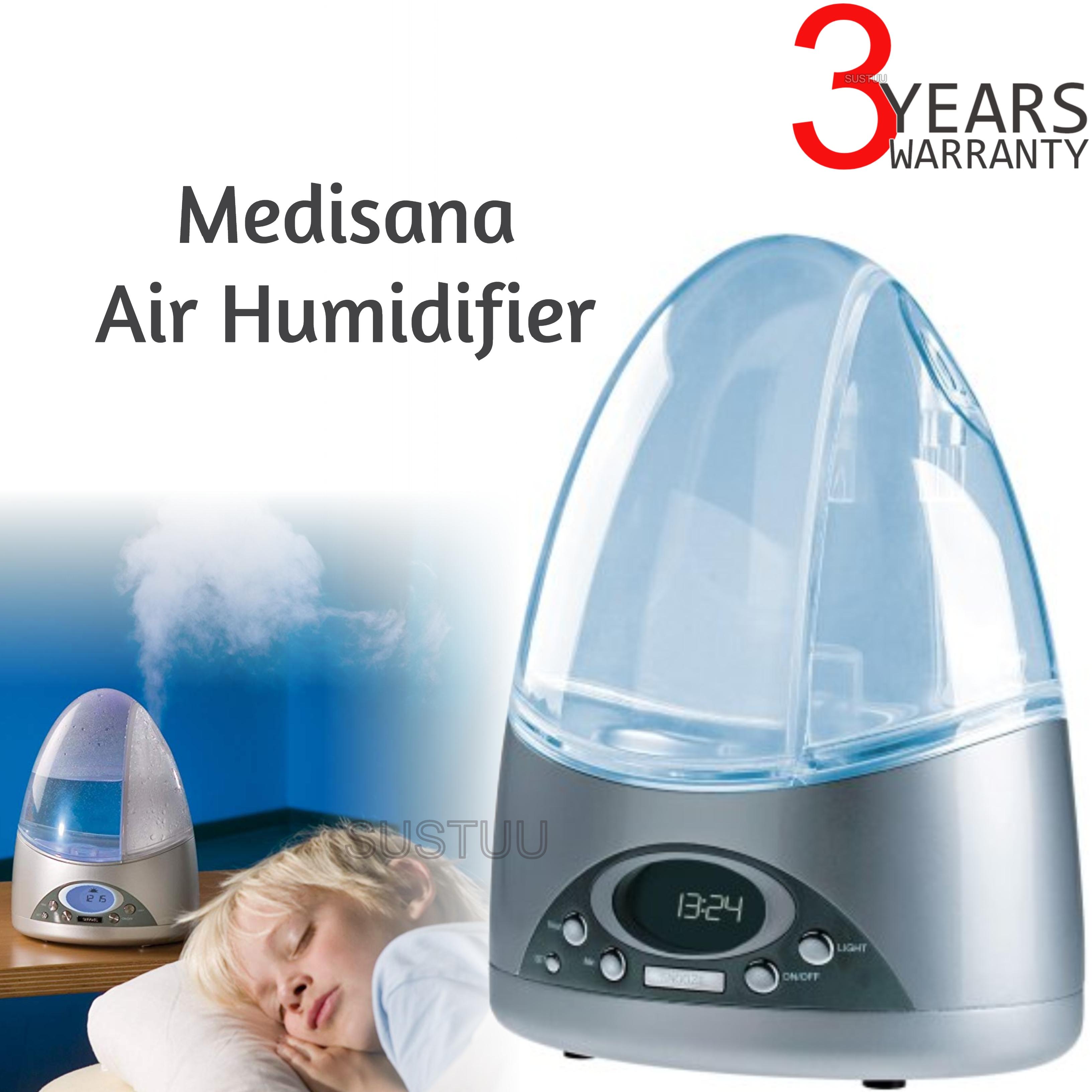 Medisana UltraBreeze Air Intensive Humidifier|Indoor Air Purifier/Cleaner|60050