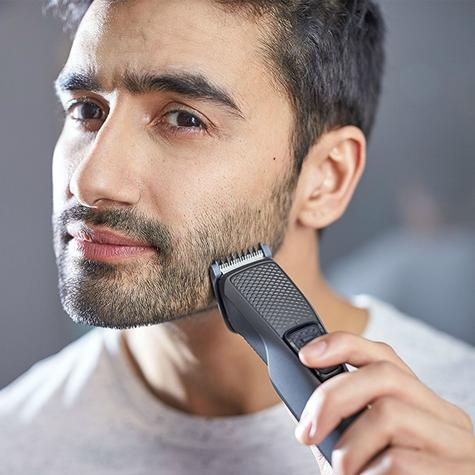 Philips BT1216/15 Series 1000 Beard-Stubble Trimmer | Cordless | USB Charging | Black Thumbnail 8