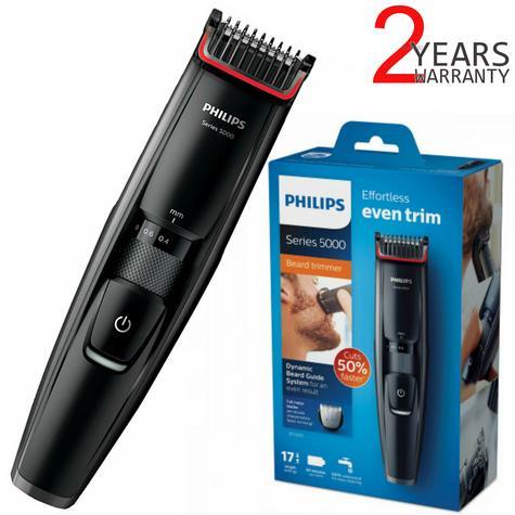 Philips Series 5000 Beard & Stubble Trimmer | 17 Length Setting | Cordless | BT5200/13 Thumbnail 1
