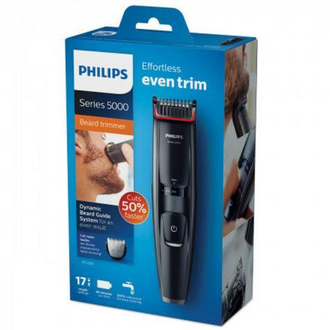 Philips Series 5000 Beard & Stubble Trimmer | 17 Length Setting | Cordless | BT5200/13 Thumbnail 8