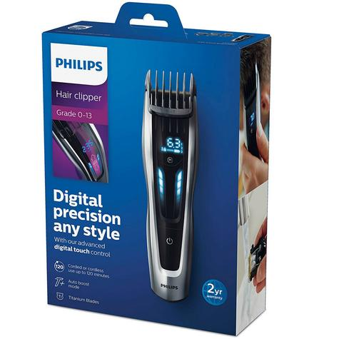 Philips Series 9000 Hair Clipper?Ultimate Precision?400 Length Setting?HC9450/13 Thumbnail 6