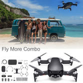 DJI Mavic Air Fly More Combo Portable Drone with Controller & Accessory Pack | 3-Axis & 4K Camera | Onyx Black