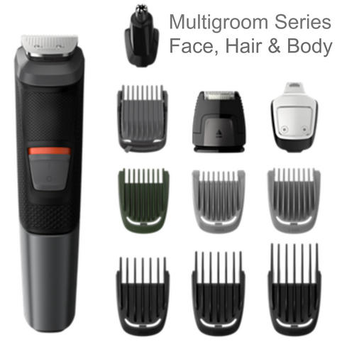 Philips Series 5000 11in1 Multi Grooming Kit | Beard-Hair-Body-Nose Trimmer | 573033 Thumbnail 2