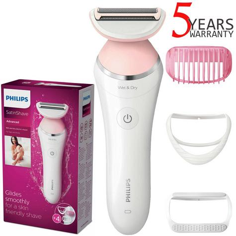 Philips SatinShave Advanced Lady Shaver Hair Removal | Wet/Dry | Rechargeable | BRL140 Thumbnail 1