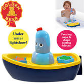 In the Night Garden Igglepiggle's Lightshow Bath-time Floating Boat   With Light   +12 Months