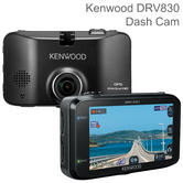 Kenwood DRV830 3'' Dash Cam | Quad HD Video Recording | GPS | 3-Axis G-Sensor | 144°
