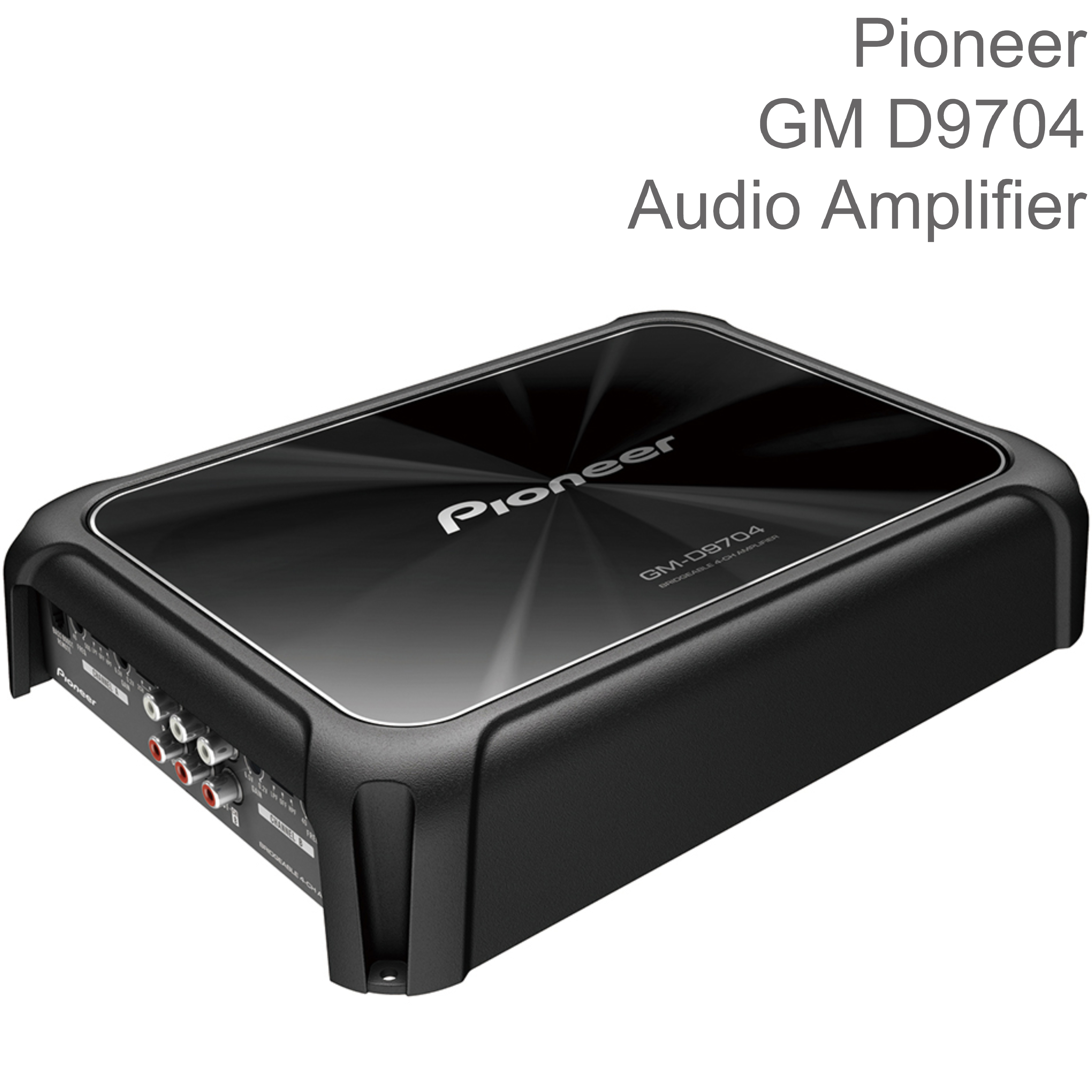 Pioneer 4-Channel Class-D Bridgeable Audio Amplifier with Bass Boost | 1600W Power