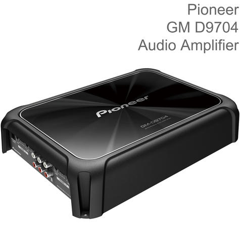 Pioneer 4-Channel Class-D Bridgeable Audio Amplifier with Bass Boost | 1600W Power Thumbnail 1