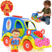 Mr Tumble's Fun Sounds Musical Car | Baby's Vehicle Car Toy | With Lights | +3 Years