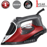 Russell Hobbs 25090 Steam Iron   One Temperature Technology   Ceramic Sole Plate   NEW