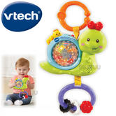 VTech Giggle & Go Snail Take Along Toy For Baby | Spins & Lightsup | Melodies | Birth+