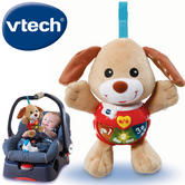 VTech Little Singing Puppy For Baby | Songs & 15 Melodies | Lightup Buttons | 3+ Month
