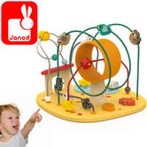 Janod Hen & Co Looping | Baby's Educatinal Playset | Learn Discovery & Imagination | +1 Year