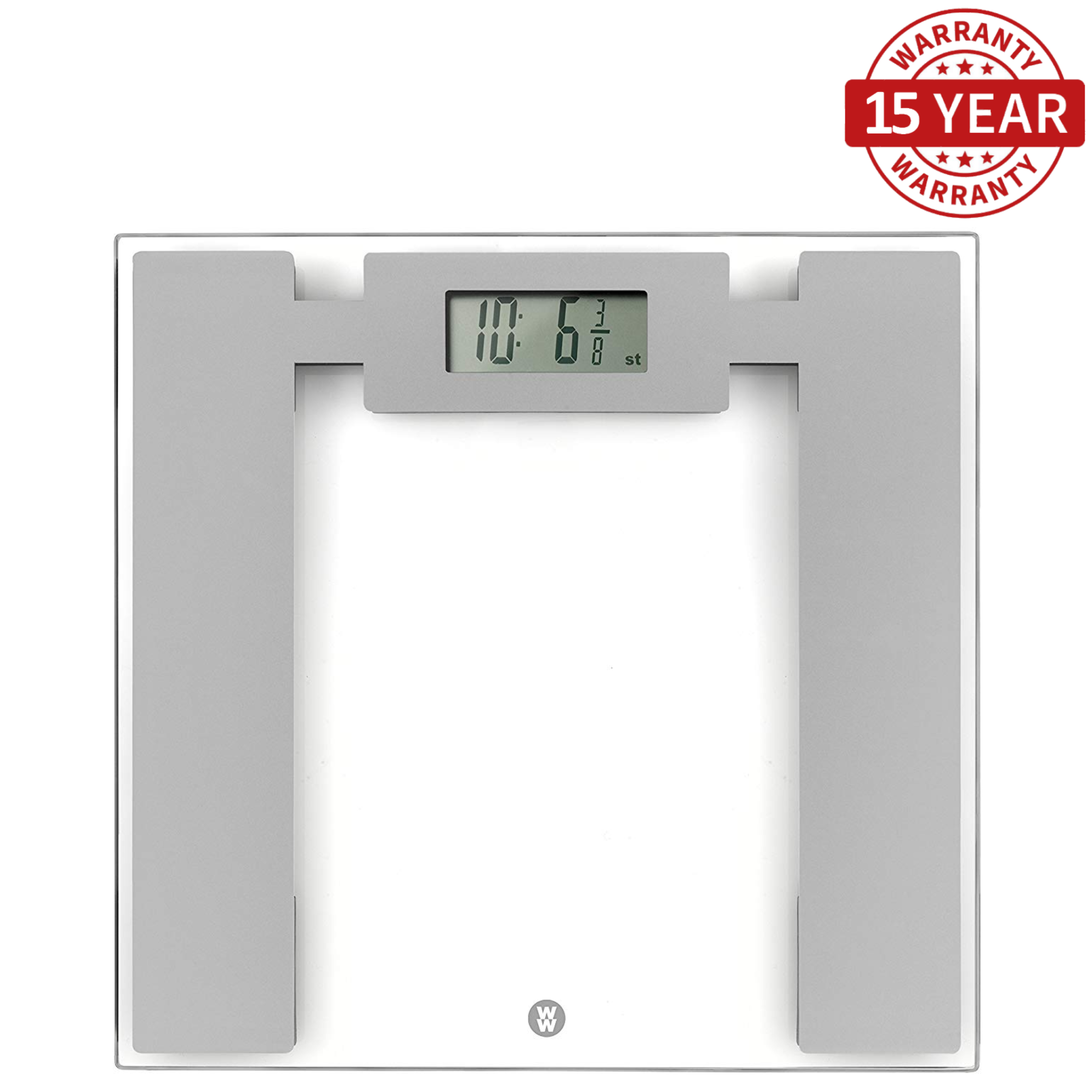 Weight Watchers 8950NU Ultra Slim Glass Electronic Scales | Measures Body Weight