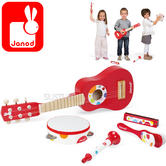 Janod Confetti Music Live Wooden Musical Set | Develop Understanding of Music | +3 Year