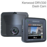 Kenwood DRV330 2'' Dash Camera | Full HD 1080p Video Recording | GPS | 3 Axis G-Sensor