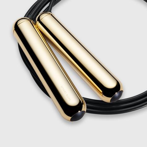 Tangram Smart Fitness Rope|23 LEDs|Chargable|Calories Burner|Gold Extra Small Thumbnail 4