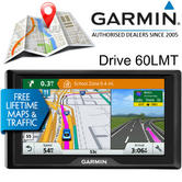 Garmin Drive 60LMT GPS Sat Nav | Full Europe Free Lifetime Maps & Traffic Updates