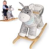 Kaloo Les Amis Rocking Regliss Wooden Soft Donkey|Kid's Toys|Toddler Gifts|18M +