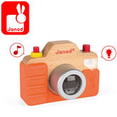 Janod Sound Camera | With Sounds and Lights | Gift Box Presentation | + 1.5 to 3 years