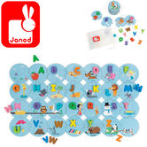 Janod I Learn The Alphabet Puzzle   Includes 54 Pieces   3 to 6 Years