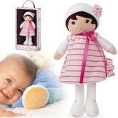 Kaloo Tendresse My Soft Doll 32cm | Kid's Comforter | Baby's Super Soft Toy | Rose